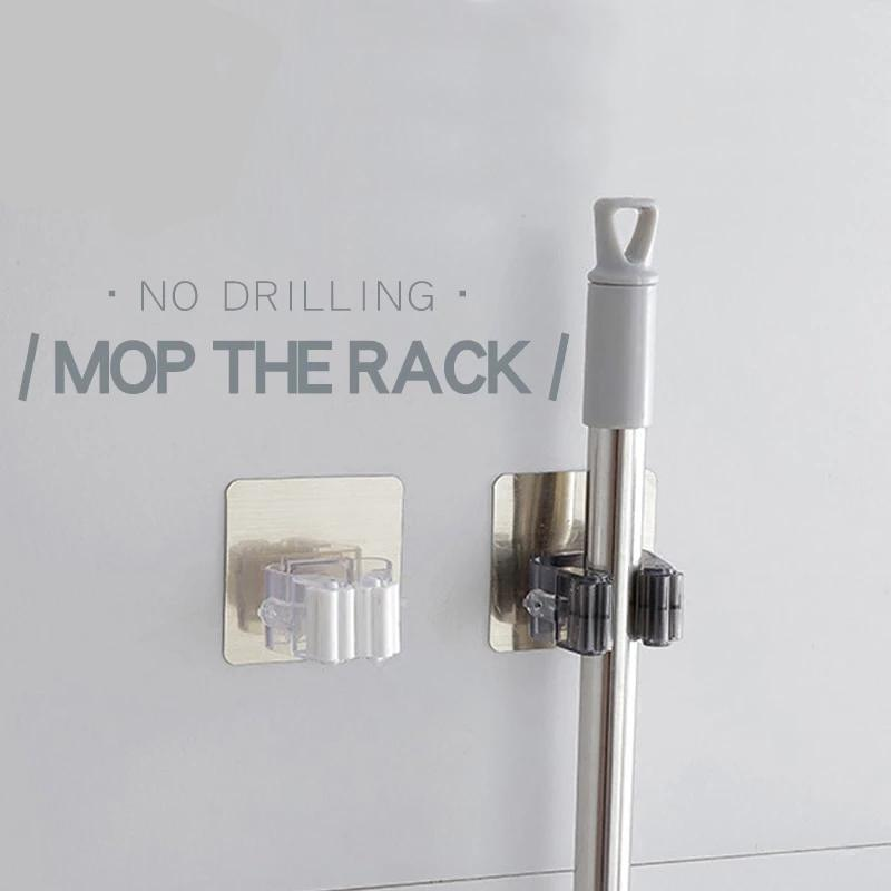 Wall Mounted Mop Clip