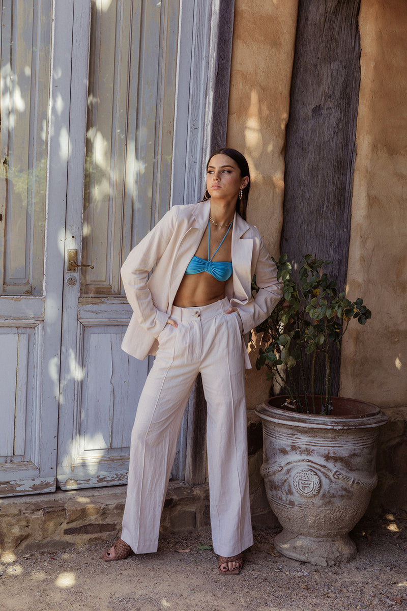 Ribbed Knit Skirt - Mustard by  St Cloud Label