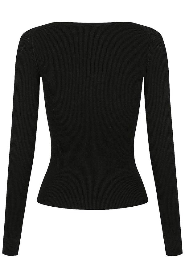 Henley Knit - Black