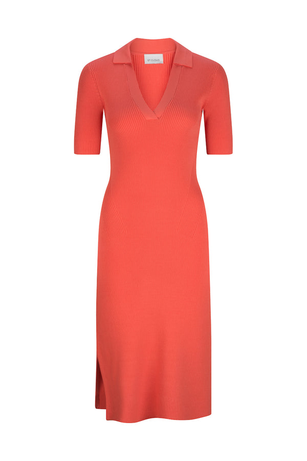 Mallorca Midi Polo Dress - Mango by  St Cloud Label