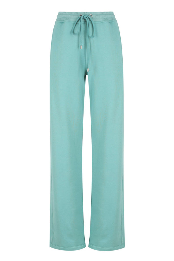 Wide Leg Track - Sea Green