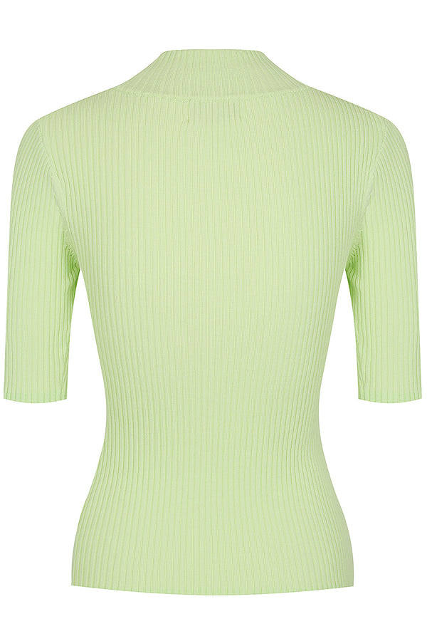 Keystone Rib Knit Tee - Pale Green by  St Cloud Label