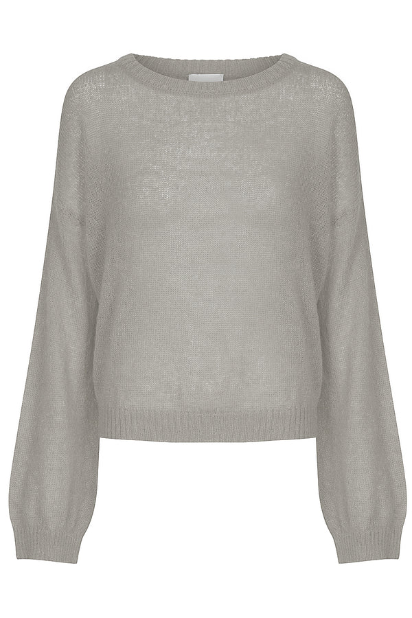 Tasman Bell Sleeve Jumper - Stone by  St Cloud Label
