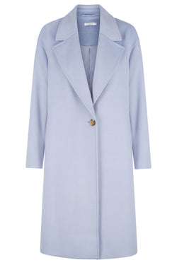 ** PRE ORDER ** Long Coat - Dusty Blue