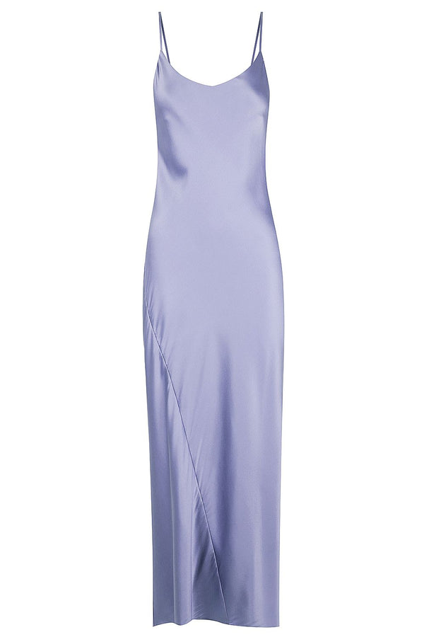** PRE-ORDER ** Silk Cami Dress - Dusty Lilac