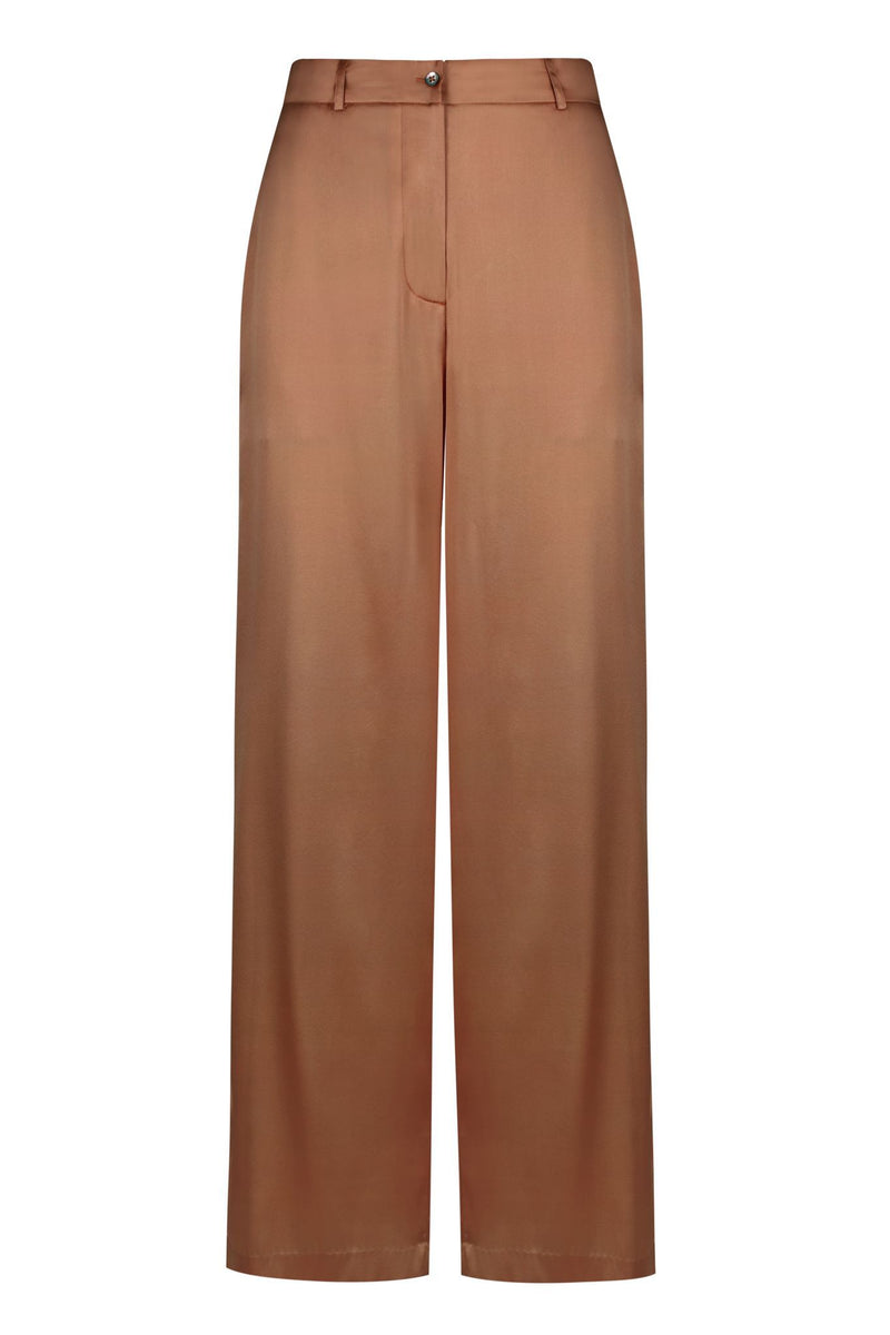 ** PRE-ORDER ** Silk Lounge Pant - Chocolate