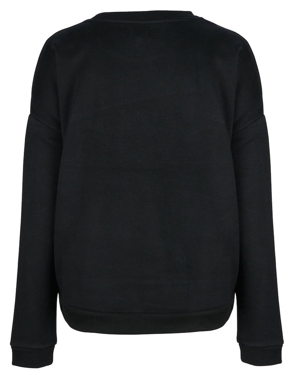 Elbrus Hand Embroidered Sweat - Black by  St Cloud Label