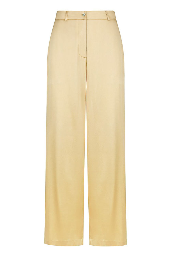 ** PRE-ORDER ** Silk Lounge Pant - Liquid Gold