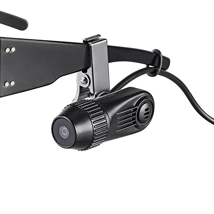 VENTURE Body Camera Eye Vision Pack with Clip on Glasses Camera attachment for Point of View (POV) and 3M ForceFlex safety glasses - GoLive Shopping Network