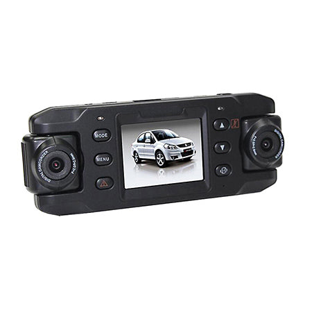 DCX8 Dual Lens Car Camera - GoLive Shopping Network