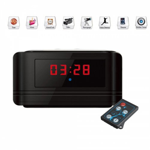 Multi-Function Clock DVR Spy Camera - GoLive Shopping Network
