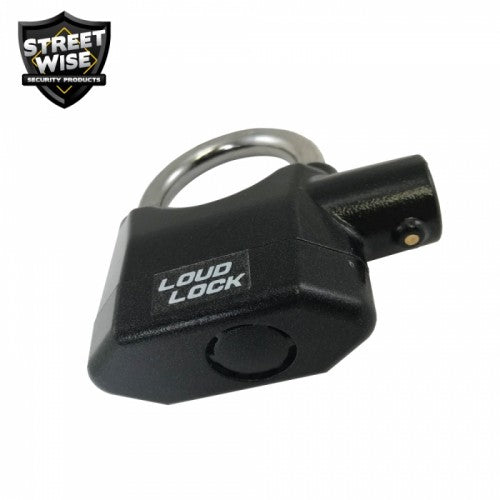 Streetwise Loud Lock Padlock with Alarm - GoLive Shopping Network