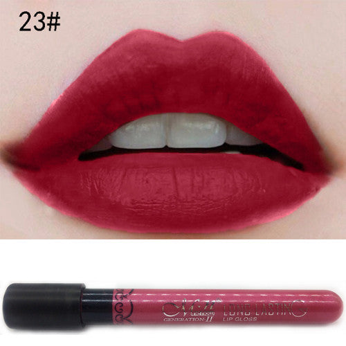 Matte Lipstick Tint liquid Velvet Waterproof Long Lasting Lip Gloss