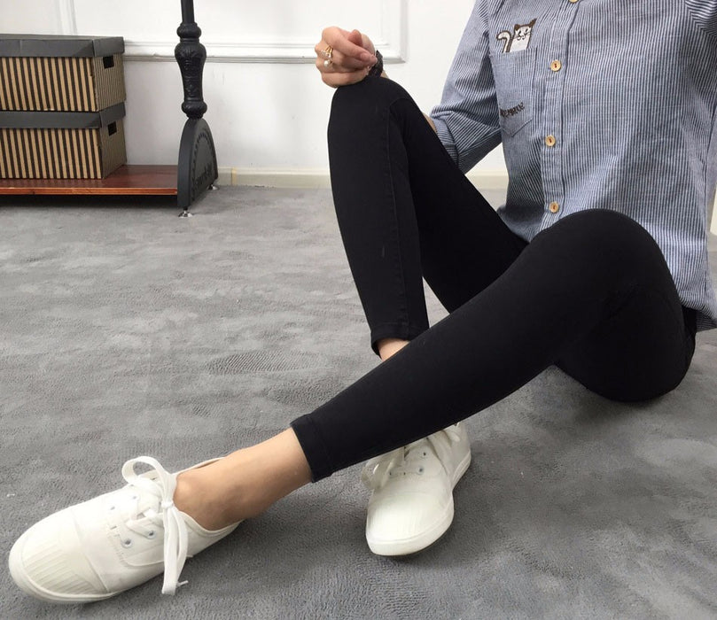 VenusFox Skinny Ankle Pencil Jeans