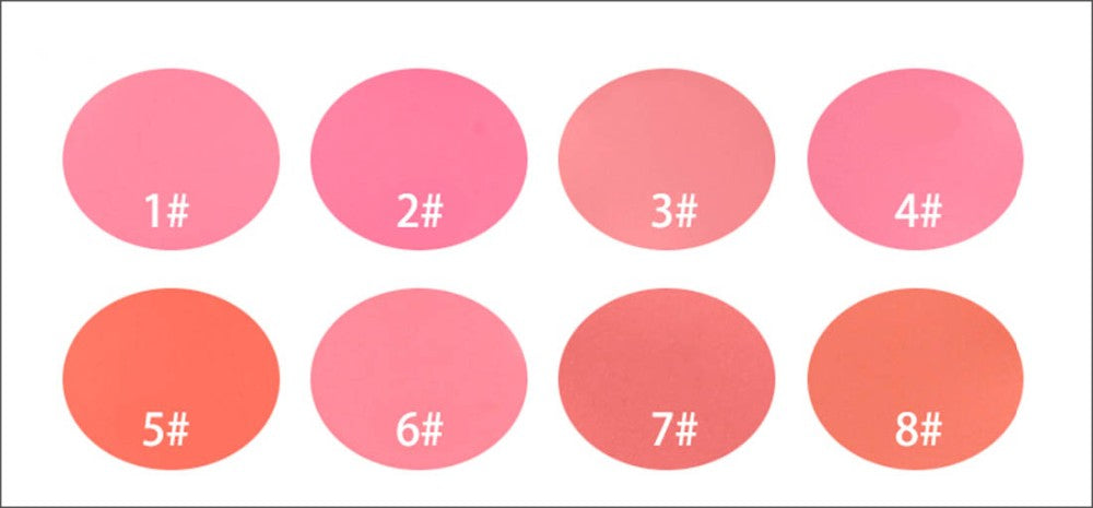 8 Colors Blush Matte Pearl Rouge Blush High Quality Make Up