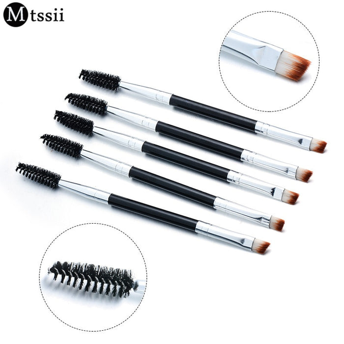 Double Eyebrow Brush+Eyebrow Comb beauty cosmetic