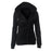 VenusFox Plus Size Zipper Long Sleeve Jacket