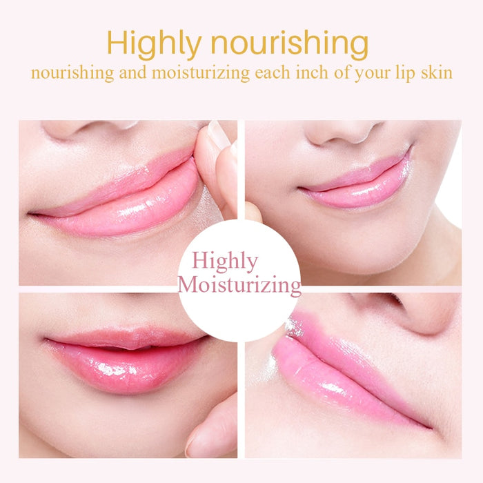5pcs Collagen Crystal Gold Gel Lip Mask Anti-Aging Anti-wrinkle Moisturizer Lip Plumper