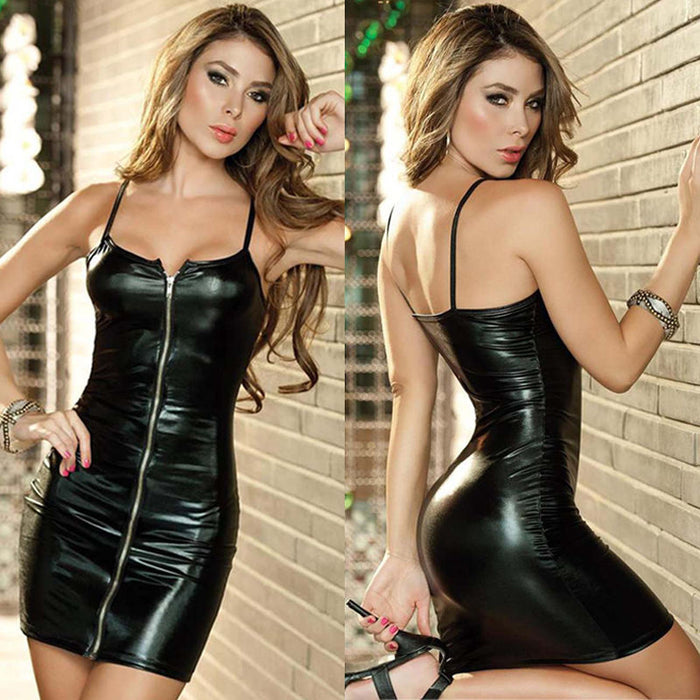 VenusFox Sexy Sleeveless Casual Party Mini Dress