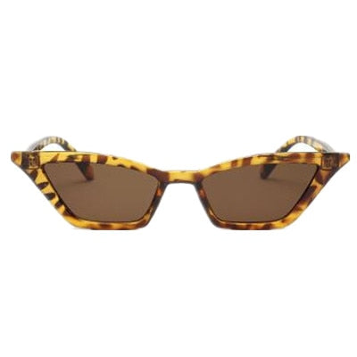 Women Vintage Retro Cat Eye Luxury Sunglasses