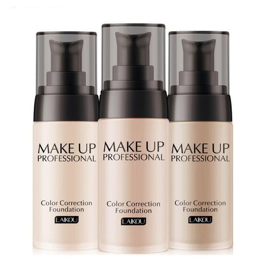 Liquid Makeup Base Long Lasting Moisturizing Nude Foundation Concealer