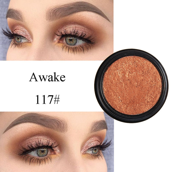 Fashion Makeup Eye Shadow Metallic Eye  Soft Glitter Shimmering Colors