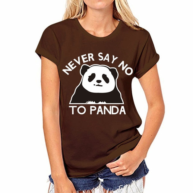 VenusFox Women Funny Tops Short Sleeve T shirt Hip Hop O-neck Tees