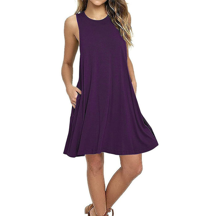 VenusFox Boho Casual Sundress Plus Sizes