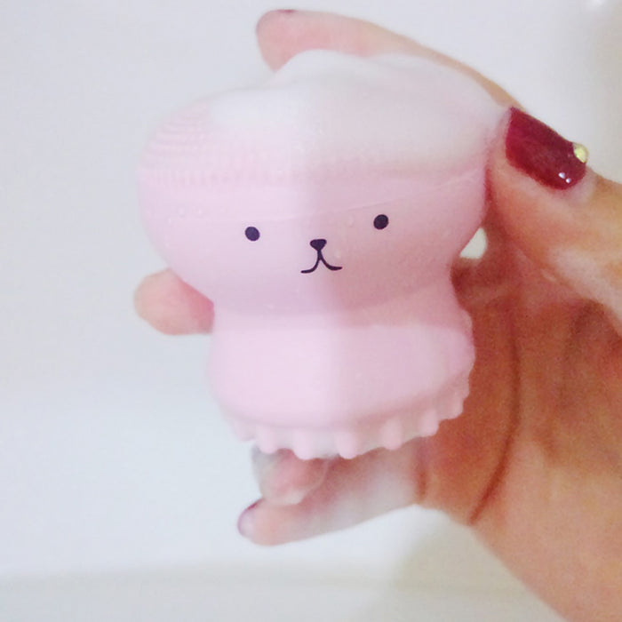 Cute Facial Cleansing Gel Massage Cleanser