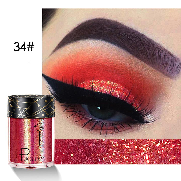 Powder Glitter shimmer eyeshadow