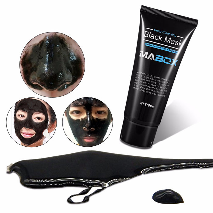Peel Off Bamboo Charcoal Purifying Blackhead Remover Deep Cleansing Mask
