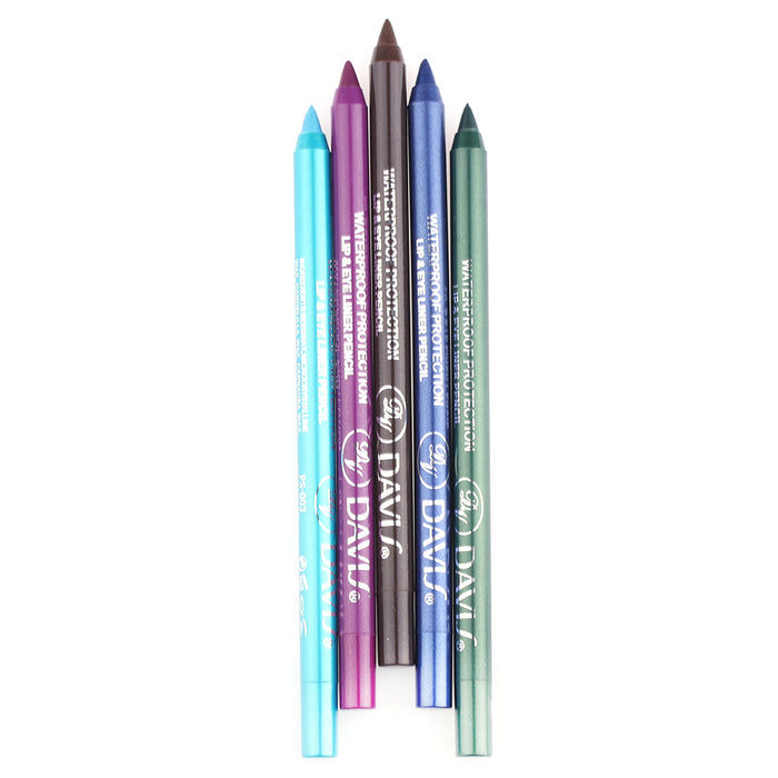 1PC  Long lasting Beauty Eye Liner Pencil Pigment Waterproof