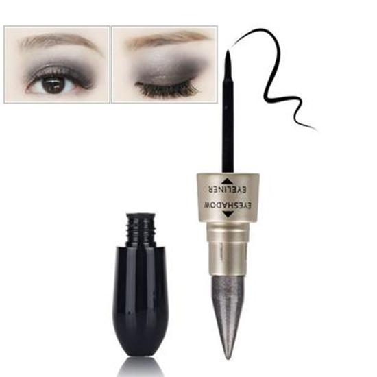 Professional 2 In 1 Eye Makeup Kit Waterproof Long Lasting Shimmer Shine Eye Shadow Sticker