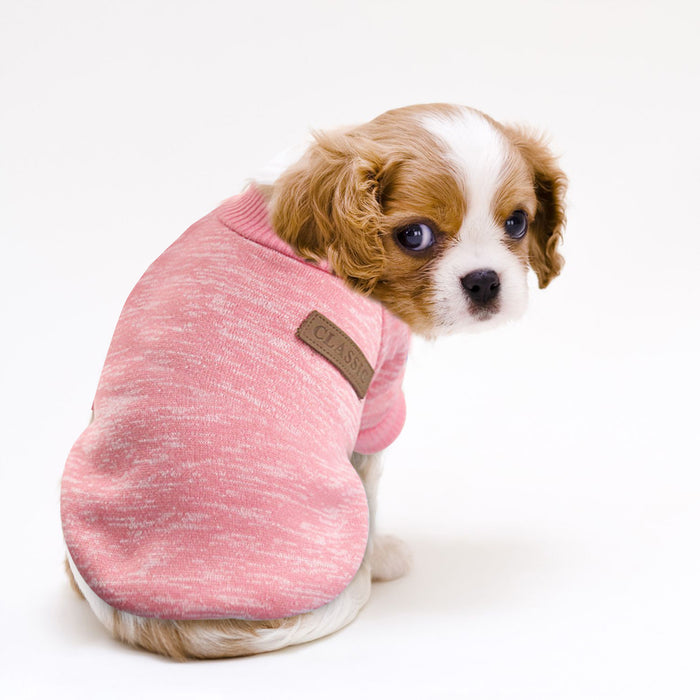 Dog Cat Clothing Autumn Winter Pet Clothes Sweater For Small Dogs Cats