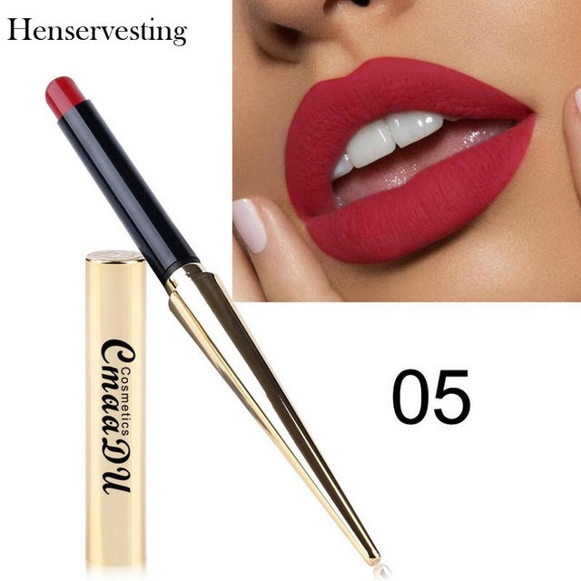 8 colors Matte Lipstick Sexy Long Lasting Waterproof  Silky Texture Durable Make Up