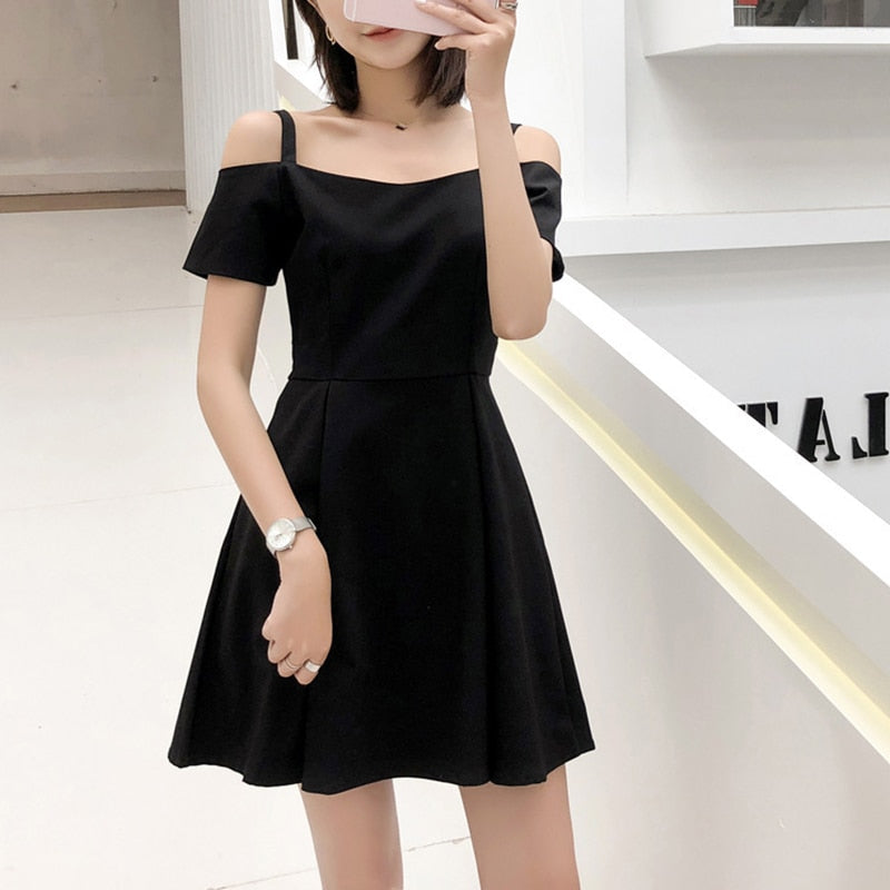 VenusFox Women Fashion Casual Sleeveless Elegant Sweet Sexy Summer Dress