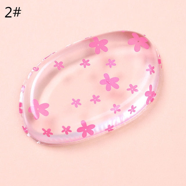 1pc Silicone Makeup Sponge Jelly Powder Cream Puff