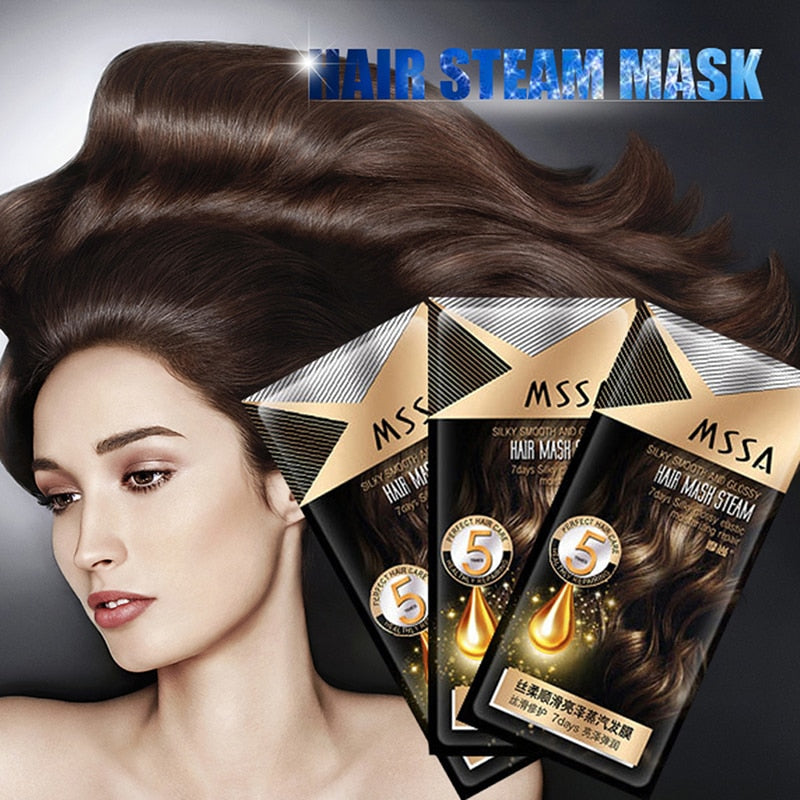 Heating Steam Mask Keratin Treatment