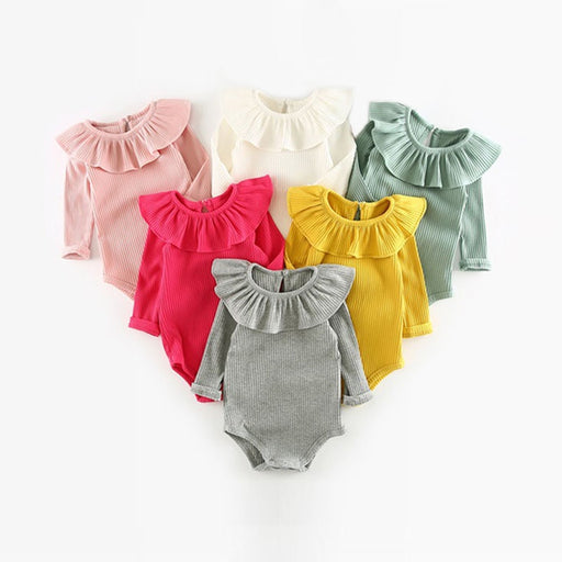 Fashion Spring Long Sleeve Baby Jumpsuit