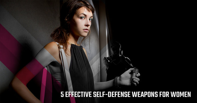 5 Effective Self-Defense Weapons For Women