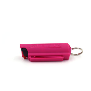 Fuschia Scorpion Venom Pepper Spray (Hard Case)