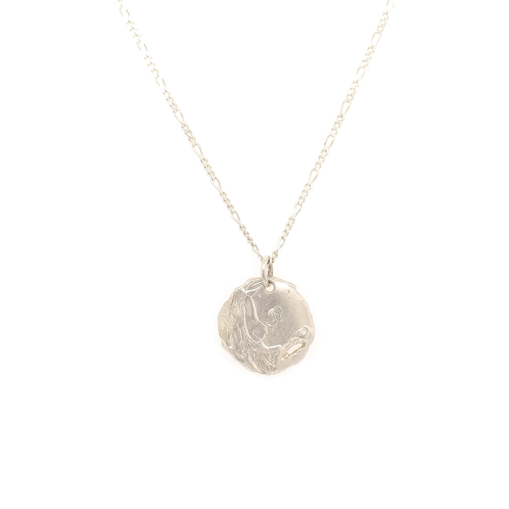 Opis pendant, silver