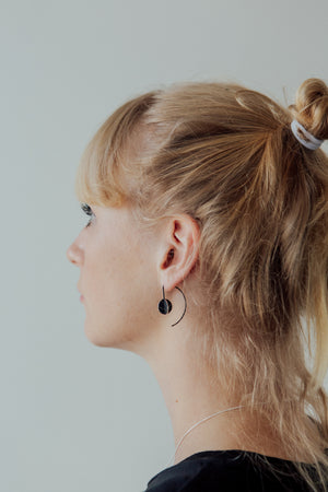 Orb hook earrings