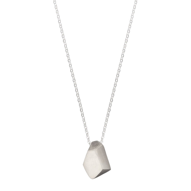 Nugget geometric necklace