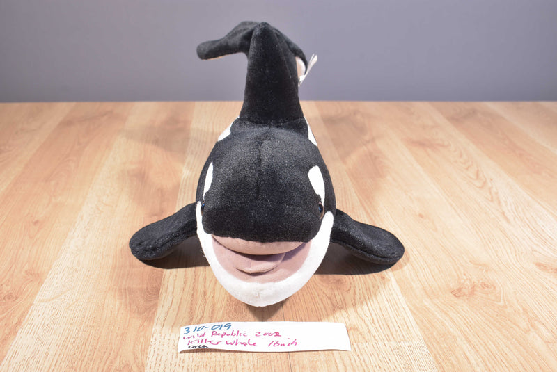 Wild Republic Orca Killer Whale 2002 Plush