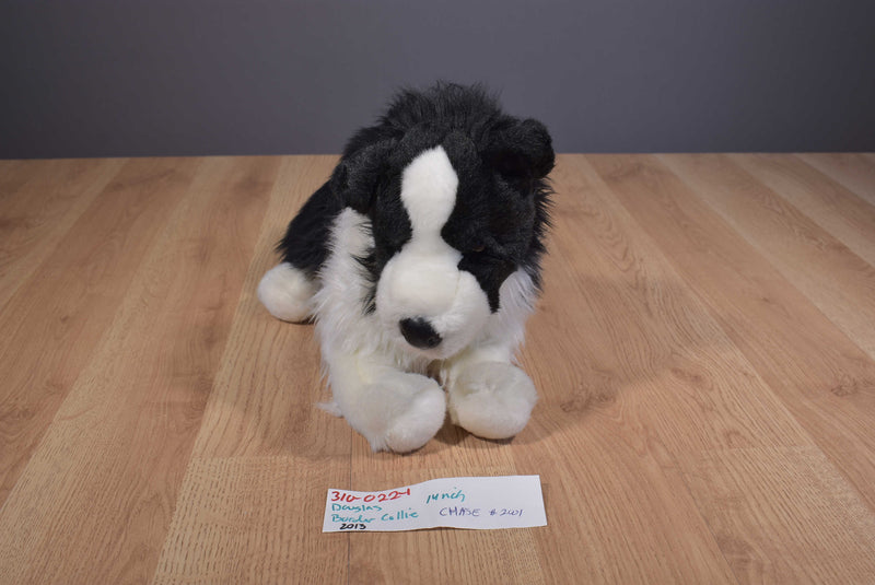Douglas Chase Border Collie Dog 2013 Beanbag Plush
