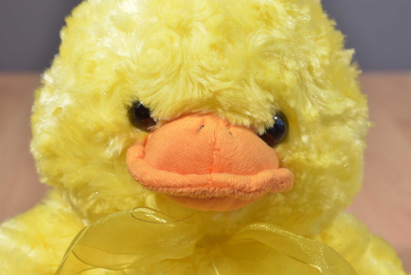 Caltoy Yellow Duckling with Bow Plush