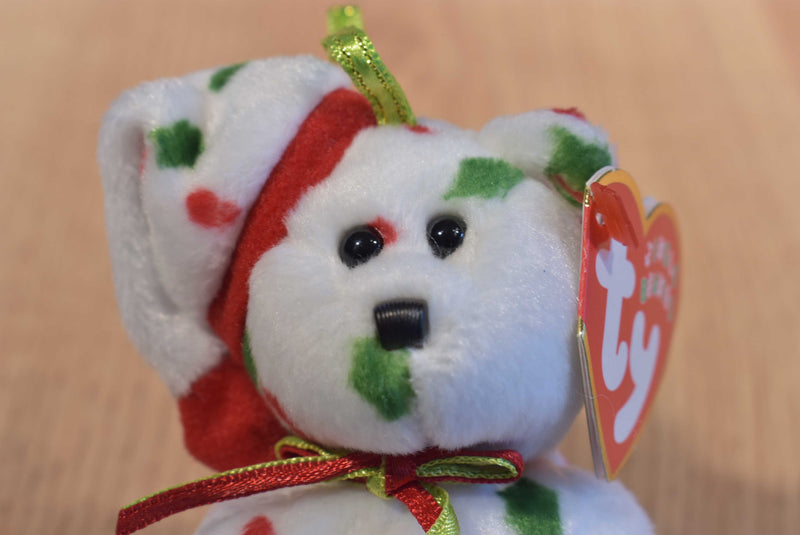 Ty Jingle Beanies Snowgirl 2002 Holiday Teddies 1998 and 1997 Beanbag Ornaments