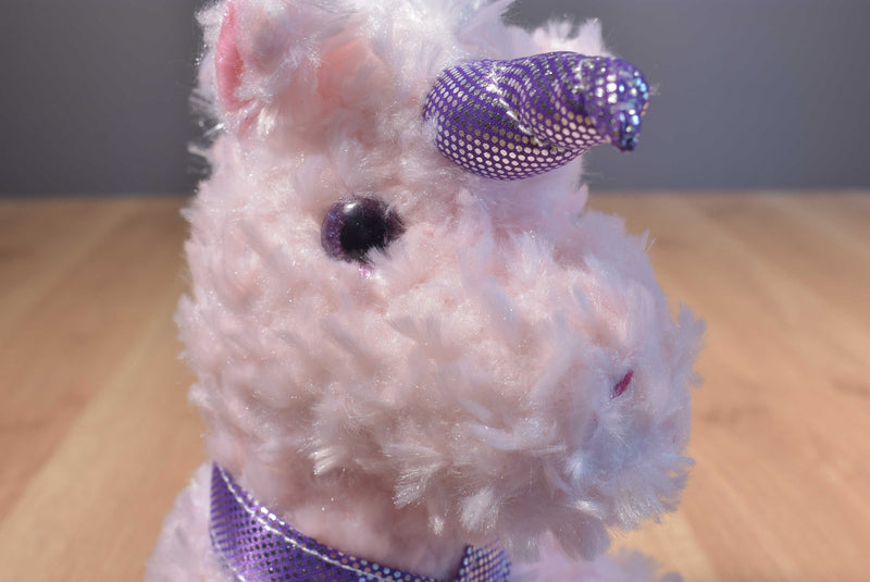Dan Dee Pink and Purple Unicorn Plush