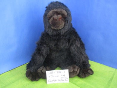 Ty Classic 1989 George the Gorilla Plush(310-1308-1)